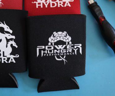 Can Cooler – Snake & Hydra Logo
