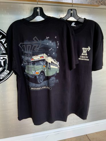 Power Hungry Performance – Orion Bus Shirt